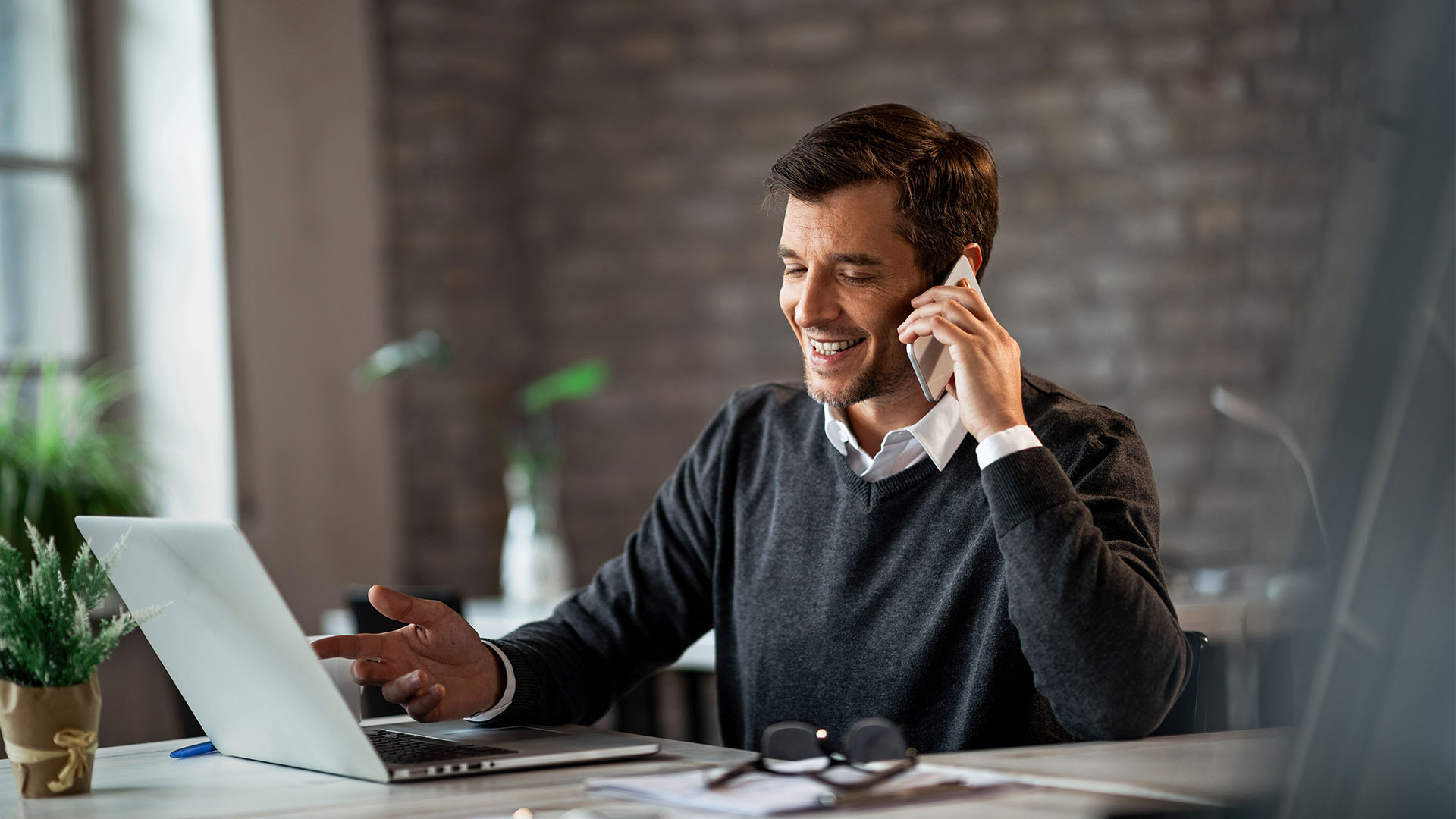 business owner building a call flow